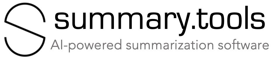 Summary.tools